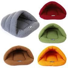 pet cat dog sleeping bag cushion warm comfortable house kennel bed
