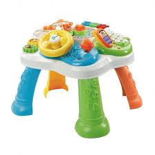 table d activité bébé avec siege ma table d activités bilingue multicolore jeu recherche