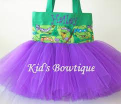 halloween costume disney monogrammed tutu bags
