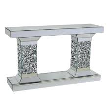 mirrored console table target mirrored console table mirrored console table target