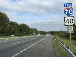 Interstate 55 Wikipedia Interstate 70 In Maryland Wikipedia