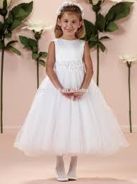 sd786 puffy flower net dress cheap cute kids princess wedding