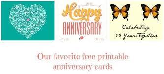print anniversary card 25 creative free printable anniversary