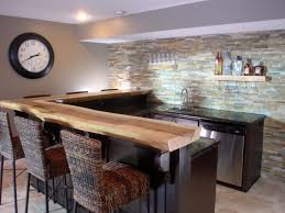 Rustic Bar Cabinet Modern Basement Bar With Basement Wood Bar Cabinet L Shaped Marble