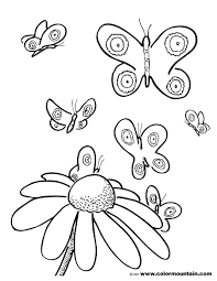 free coloring butterflies create a printout or activity