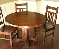 round oak kitchen table round wood kitchen table hangrofficial com