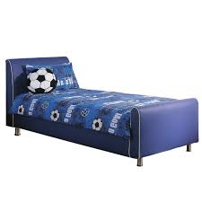 Childrens Faux Leather Armchair Azure Boys Leather Bed Frame Blue U2013 Next Day Delivery Azure Boys