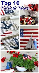 Flag Decorations For Home by 107 Best Patriotic Holiday Decor Images On Pinterest July Crafts