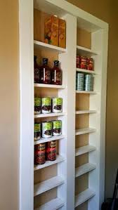 pantry between the studs pantry storage and kitchens