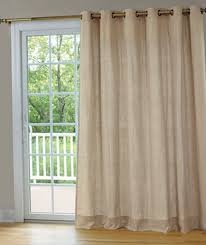 Patio Door Net Curtains Net Curtain Door Panels Home Design Ideas
