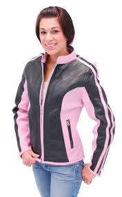 black motorcycle jacket pink u0026 black leather motorcycle jacket l24411zp