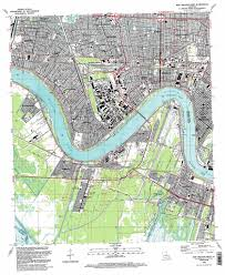 Map New Orleans by New Orleans West Topographic Map La Usgs Topo Quad 29090h2
