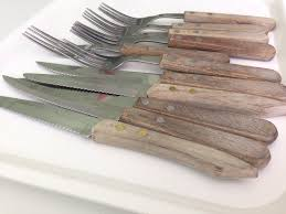 transforming old cutlery painted wooden handles lulastic and
