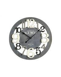horloge cuisine mobili horloge murale bois mdf gris design moderne salon