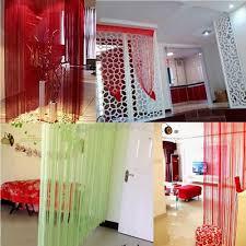 string door curtain fly screen divider window room decor diy blind