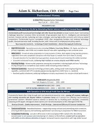 Cio Resume Examples by Ceo Coo Sample Resume Executive Resume Writer Sacramento