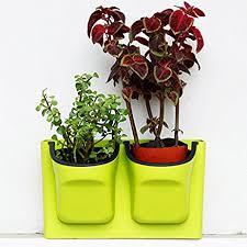 amazon com self watering vertical planter wall mounted flowerpot