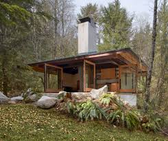 Contemporary Cabin Small Modern Contemporary Cabin Architecture Pinterest