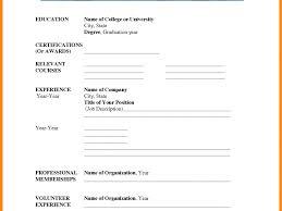 blank resume layout download blank resume haadyaooverbayresort com