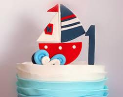 sailboat cake topper sailboat cake topper etsy