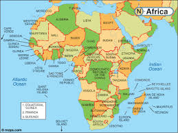 africa map map of africa with facts statistics and history