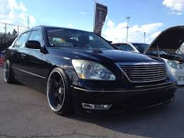 lexus ls 460 lowered artisan spirits kyoei usa