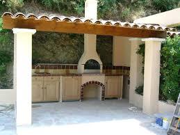 cuisine d été en bois cuisine ete cuisine exterieure d ete construction d barbecue 6