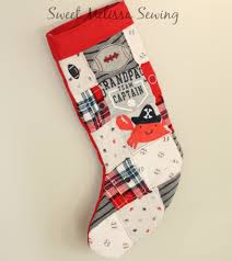 memory quilt christmas stocking baby clothes custom stocking