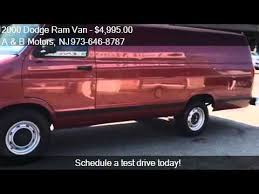 dodge ram vans for sale 2000 dodge ram 2500 3dr cargo extended for sale in w