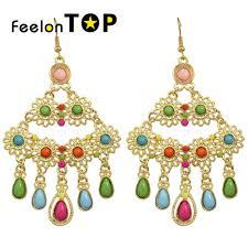Colorful Chandelier Earrings Popular Fashion Chandelier Earrings Buy Cheap Fashion Chandelier