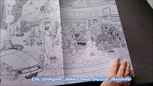 Présentation du livre  Colorier Paris  20 vues de Paris à colorier