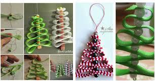 easy peasy ribbon tree ornaments