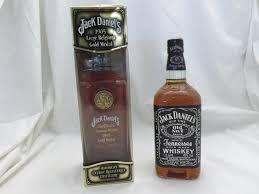two x 1 ltr bottles comprising jack daniels 1905 liege belgium
