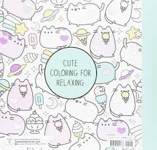 Turn Pictures Into Coloring Pages App Amazon Com Pusheen Coloring Book 9781501164767 Claire Belton