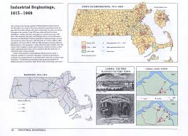 Massachusetts Map Cities And Towns by Historical Atlas Of Massachusetts