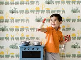 chambre enfant papier peint papier peint enfant 15 idées pour sa chambre décoration