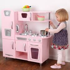 kidkraft island kitchen pink retro kitchen