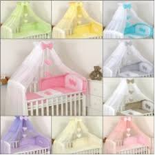 Cot Bed Canopy Luxury Canopy Drape With Hearts And Bow For Cot And Cot Bed With