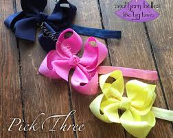 baby bow boutique big baby bow etsy