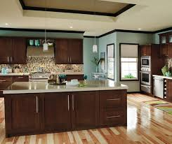Contemporary Cherry Kitchen Cabinets Decora Cabinetry - Kitchen with cherry cabinets