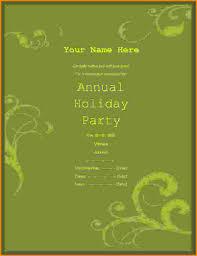 14 free party invitation templates letterhead template sample