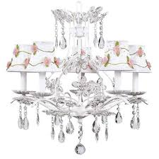 buy cinderella 5 light chandelier with bulb cover shade finish