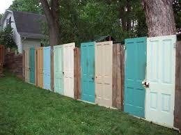 Backyard Fence Ideas Cool Fence Ideas For Backyard Jeromecrousseau Us