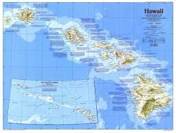 Hawaii On The Map Where Is Hawaii Location Of Hawaii List Of Islands Of Hawaii