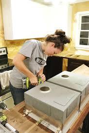 how to install butcher block countertops how to cut seal install butcherblock countertops with an