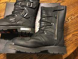 motorcycle riding boots harley davidson mens 10