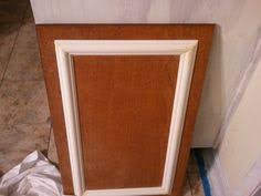Trim For Cabinet Doors Add Molding To Flat Cabinet Doors Cabinet Door Kitchen