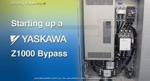 starting up a yaskawa z1000 bypass youtube