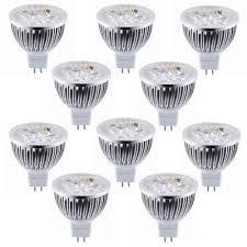 Mr16 Led Bulbs For Landscape Lighting by Lot Of 10 Dimmable 12v 4w Mr16 Led Bulbs Mr16 Spotlights Torchstar