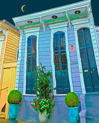 shotgun house digital art